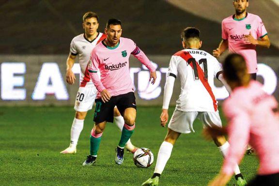 Messi volvió con gol y Barcelona avanzó en la Copa