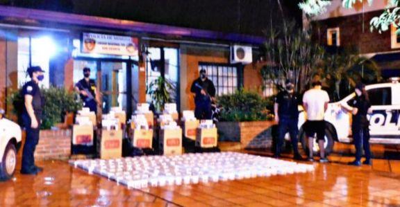 Incautan más de 900 gruesas de cigarrillos ilegales en San Vicente y en Capioví