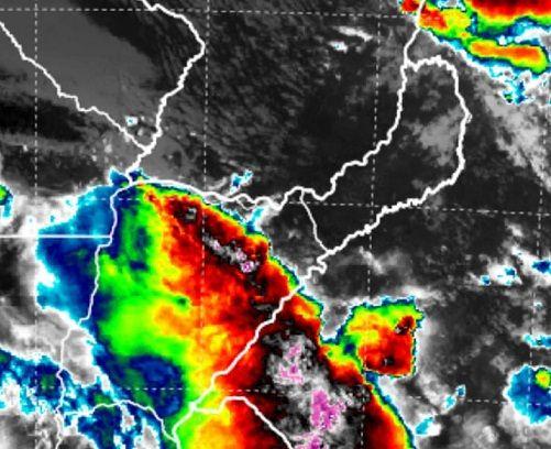 Nuevo frente de tormentas avanza hacia Misiones