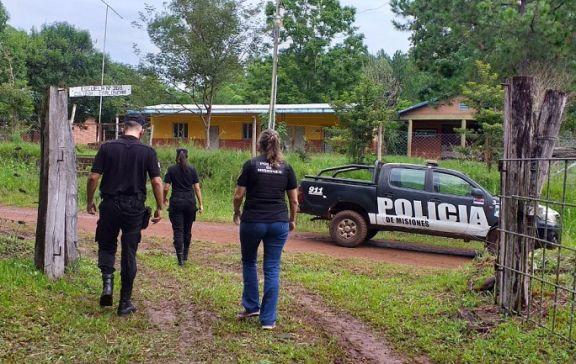 Gobernador Roca: intenso rastrillaje para hallar al colono acusado de balear a su hermano y vecino
