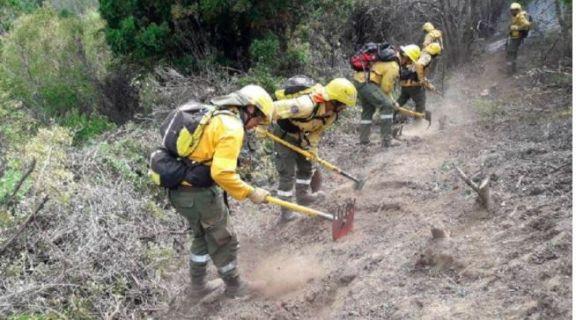 Más de 40 brigadistas del norte argentino se sumarán para combatir el incendio en El Bolsón