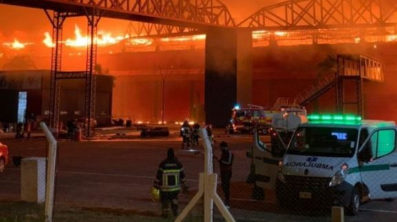 Un incendio destruyó instalaciones del autódromo Internacional Termas de Río Hondo