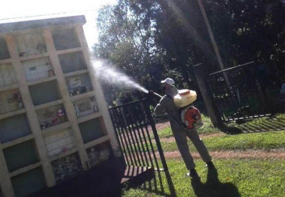 En Oberá continúan con los trabajos de fumigación en la lucha contra el dengue