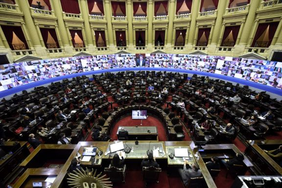 La Cámara de Diputados realizará hoy su primera sesión extraordinaria