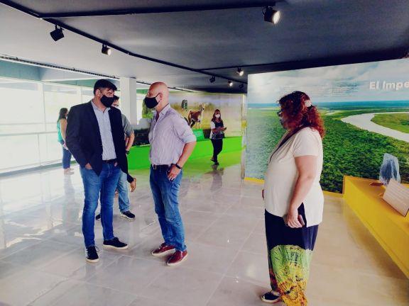 Ultiman los detalles para la inauguración del Centro de Interpretación del Litoral en Ituzaingó