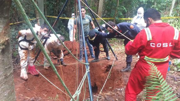 Hallaron un cuerpo en un pozo de agua e investigan si se corresponde a Marcelo Antúnez