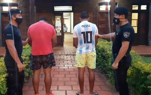 Dos detenidos por el robo a un establecimiento yerbatero de Tres Capones