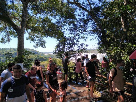 """Degiusti: """"Iguazú está recuperando ese contexto de visitas que había en otro momento"""""""
