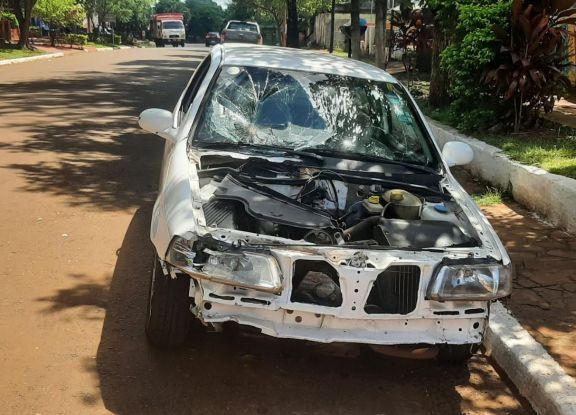 Vecinos de Candelaria piden controles viales tras el accidente que dejó en grave estado a enfermera