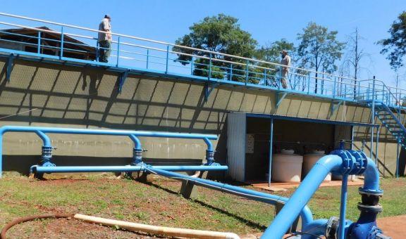 Libertad: se habilitó el acueducto Uruguaí y la planta de tratamiento de agua