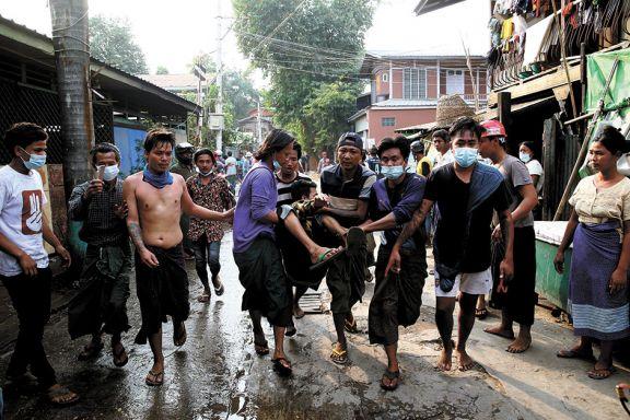 Myanmar: represión contra protestas dejó dos muertos
