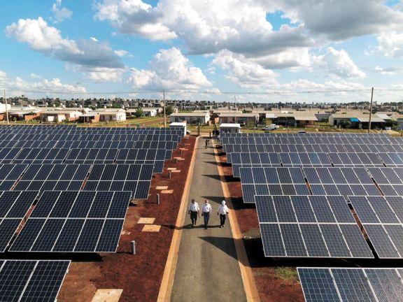 La planta fotovoltaica que pronto generará energía solar