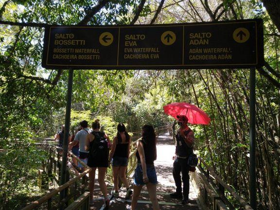 Cataratas: El Circuito Inferior y el Sendero Macuco aún permanecerán cerrados