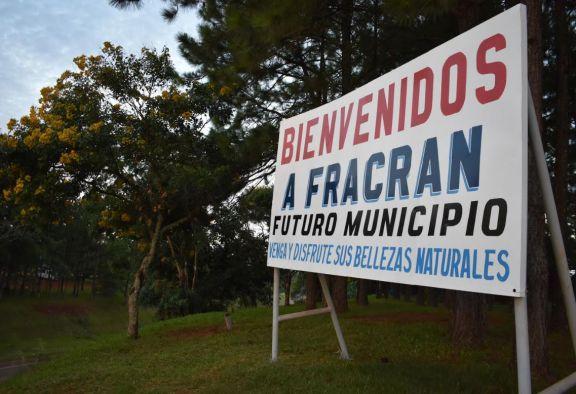Educación, producción y salud, las apuestas de Fracrán camino a tornarse municipio