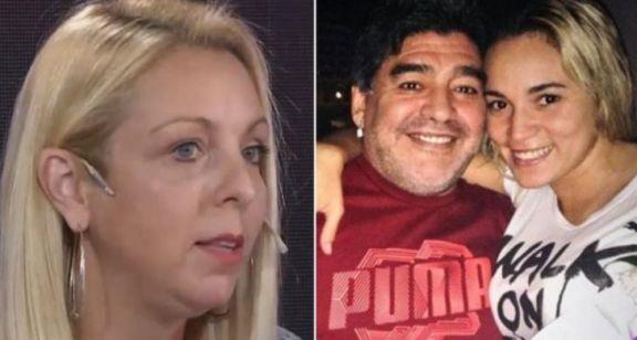 Vanesa Maradona acusó a Rocío Oliva de maltratar al Diez