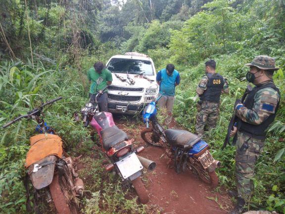 Dos cazadores detenidos en el corazón de la reserva de la biósfera Yabotí