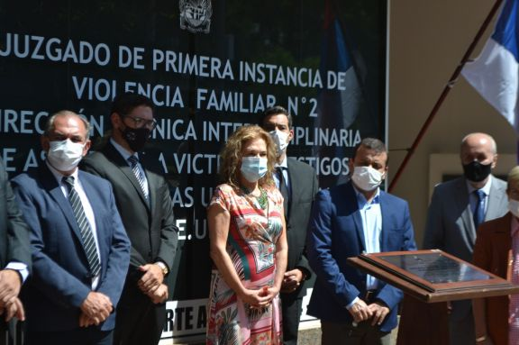 Inauguraron la sede del Juzgado de Violencia Familiar 2 de Posadas