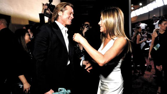 Brad y Jennifer, más cerca que nunca
