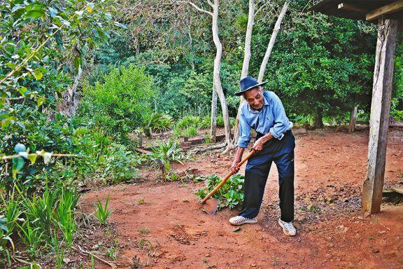 Francisco, ejemplo de vitalidad a los 102 años