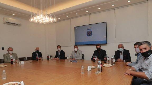 Reunión en AFA