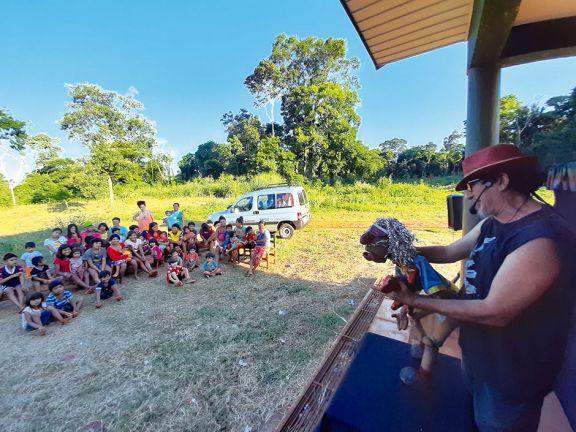 Iguazú abrió las puertas a su arte con talleres y espectáculos