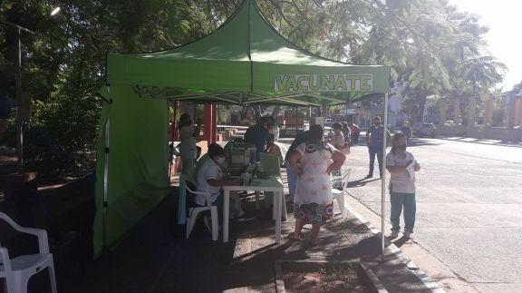 Ituzaingó comenzó la campaña de vacunación para mayores de 65 años