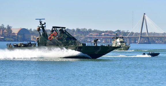 """Para """"mejor uso operativo"""", dos lanchas artilladas dejan de operar en Misiones"""