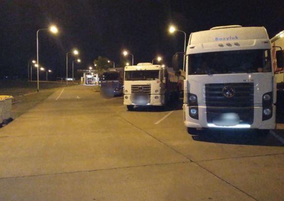 Cámaras de seguridad detectaron otros tres camiones intentando ingresar soja ilegalmente a Misiones