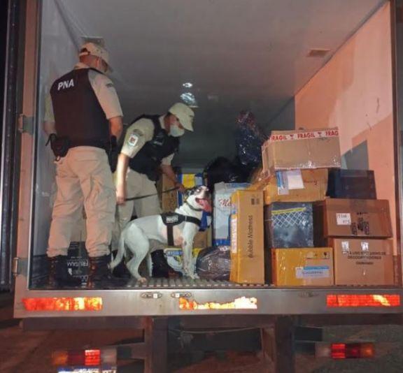Incautan cargamento de mercadería ilegal valuada en más de 8  millones de pesos