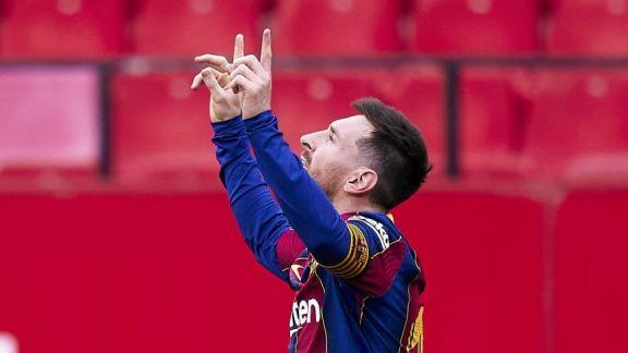 Messi redondeó una importante victoria de Barcelona ante Sevilla