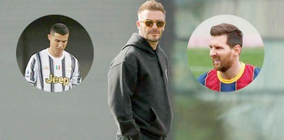 """Queremos traer a Messi y Cristiano Ronaldo"", señaló David Beckham"