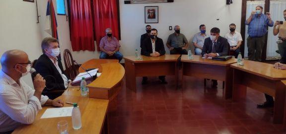 Se inauguran las sesiones del Concejo en Leandro N. Alem
