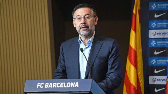 Escándalo en Barcelona: detuvieron al ex presidente Bartomeu