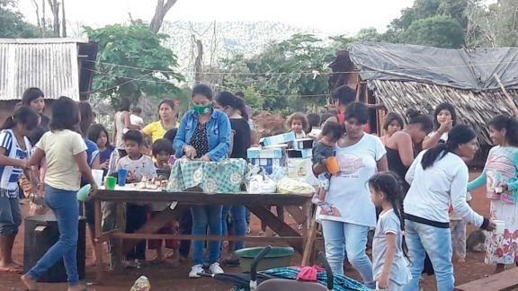 Impulsan en aldea aborigen proyectos sociocomunitarios