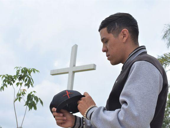 El rapero cristiano de San Pedro ya lleva recaudado cuarenta mil pesos para grabar su disco