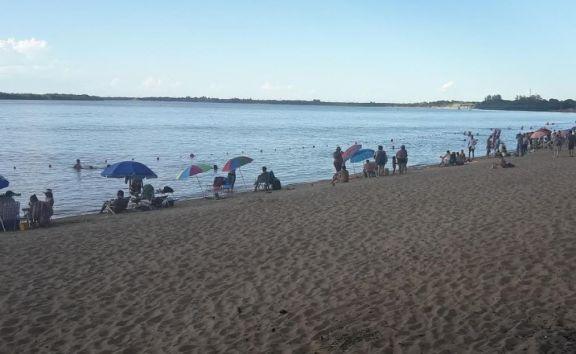 La altura del rio oscilará entre 0.80 y 1.80 m. en Ituzaingó