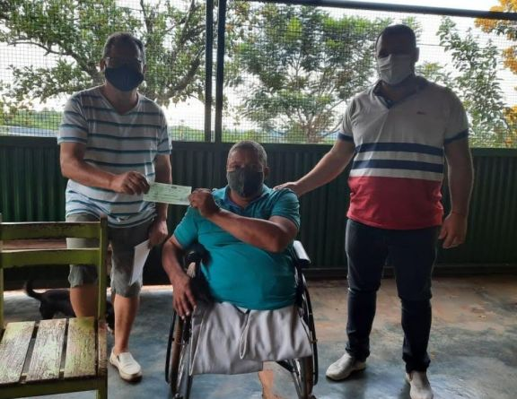 San Pedro: vecinos reciben subsidio para construir destacamento de bomberos