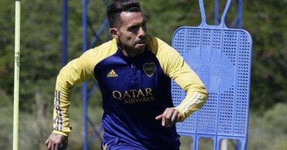 Tevez se reincorporó a los entrenamientos después de la licencia por la muerte de su padre