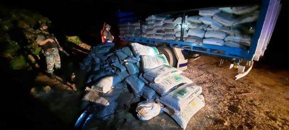 Aumenta la detección de soja ilegal: Prefectura incautó más de 11 toneladas