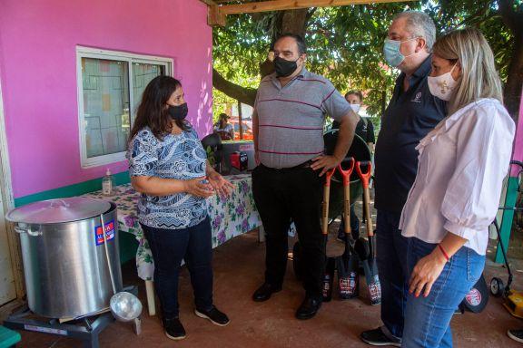 Comedores barriales de Posadas recibieron mobiliarios y refacciones edilicias