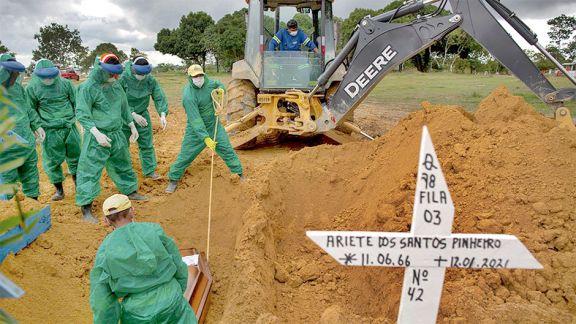 La cepa amazónica tiene  poder duplicado de contagio