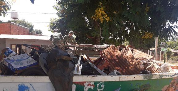 Dengue: realizaron control focal en cuatro barrios y se retiraron siete camiones de basura