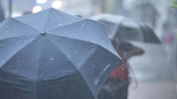 Advertencia nivel Amarilla por lluvias y tormentas fuertes en Misiones