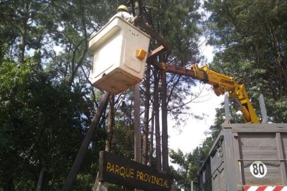 San Pedro: avanzan con obras para mejorar el servicio de energía eléctrica
