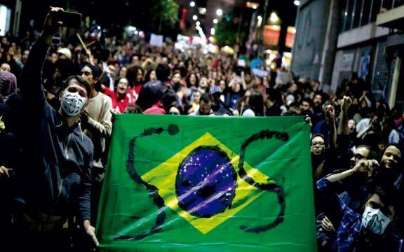Brasil rompió el récord de muertes diarias por Covid