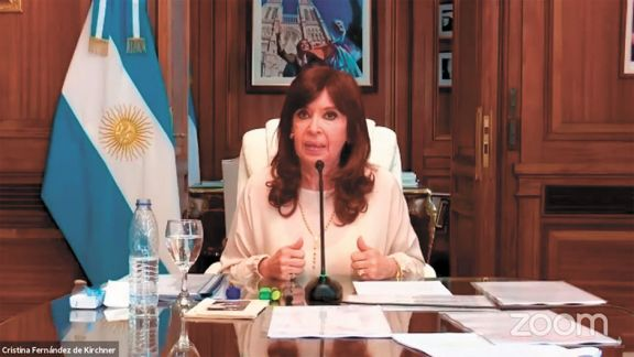 Dólar futuro: Cristina habló de una causa armada para que gane Macri