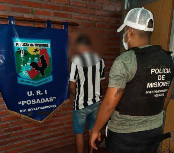 Capturan a un joven presuntamente involucrado en varios hechos de robos en Posadas