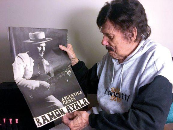 Ramón Ayala  presenta su nuevo disco