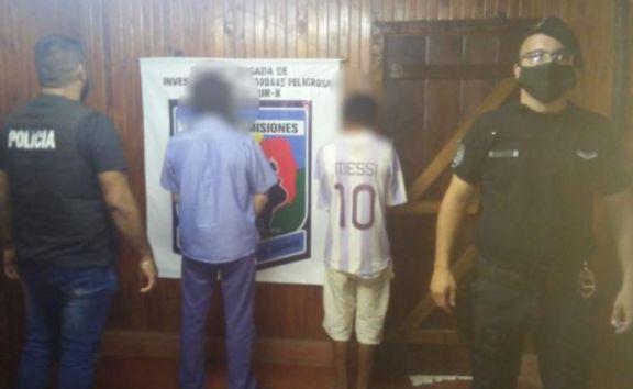 Candelaria: Secuestran elementos robados y arrestaron a dos hombres en el barrio San Cayetano