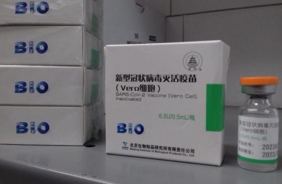 Llegaron las 11.700 dosis de la vacuna sinopharm a Misiones